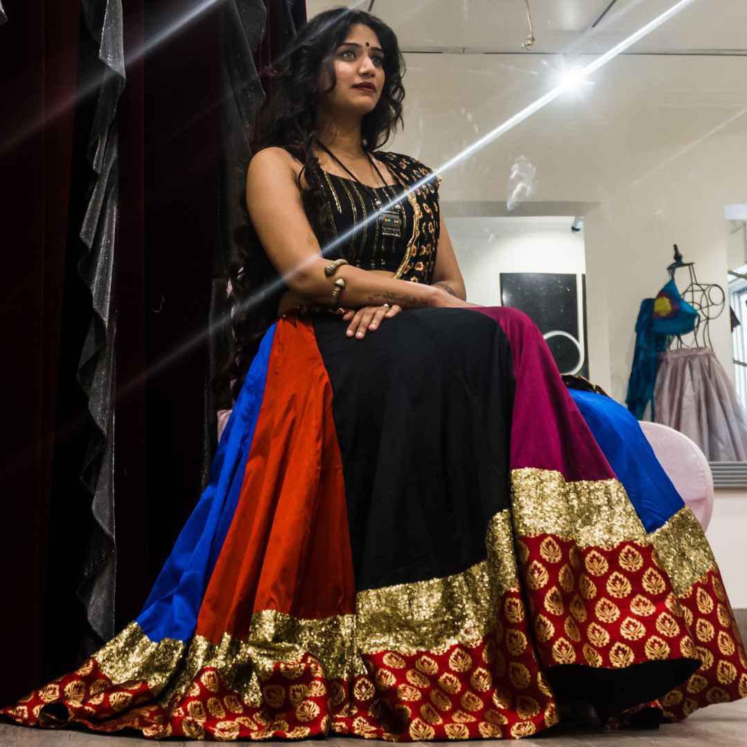 navratri designer chaniya choli fashion autograph boutique